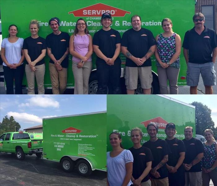 SERVPRO of Chambersburg's new trailer