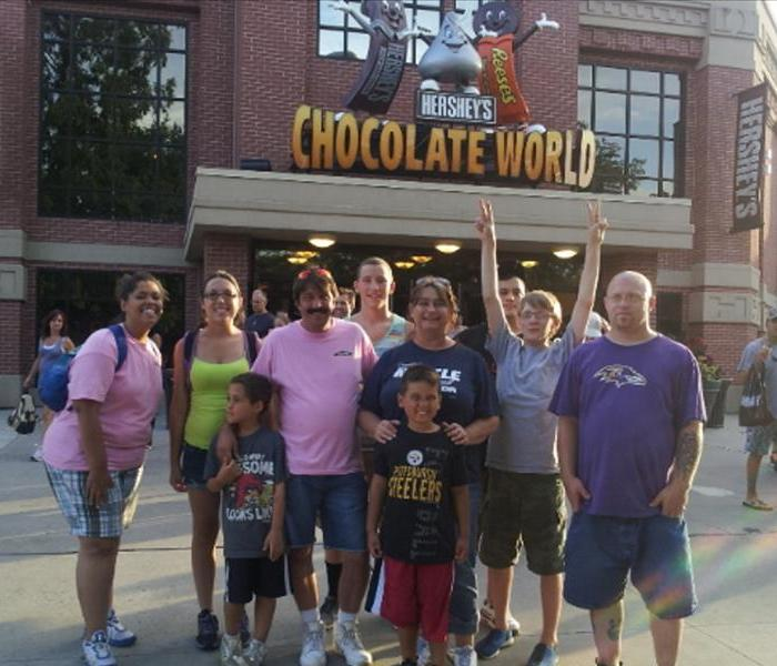 SERVPRO of Chambersburg at Chocolate World