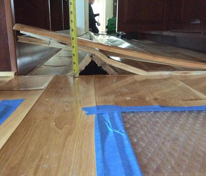 Hardwood Floors, when not to save them.