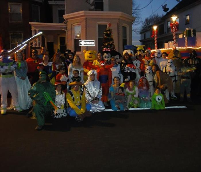 2015 Chambersburg Christmas Parade Group