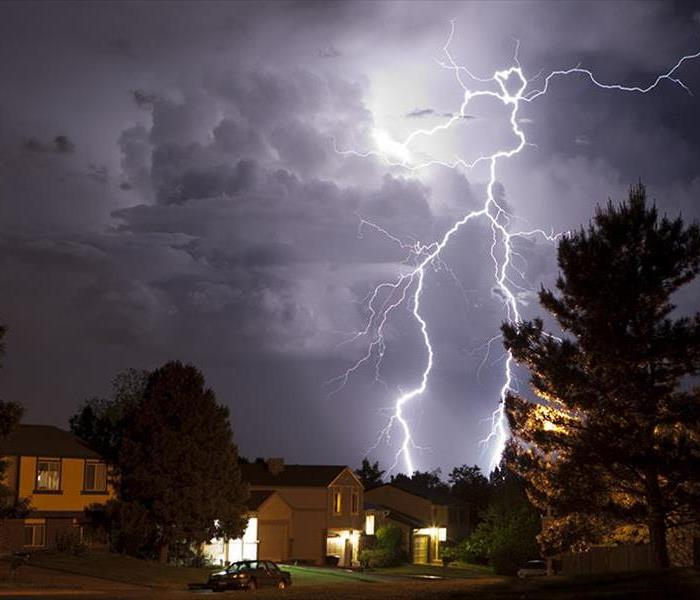 Storm Damage Lightning Safety Tips