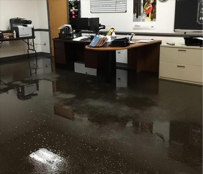Water Damage in a Buisness