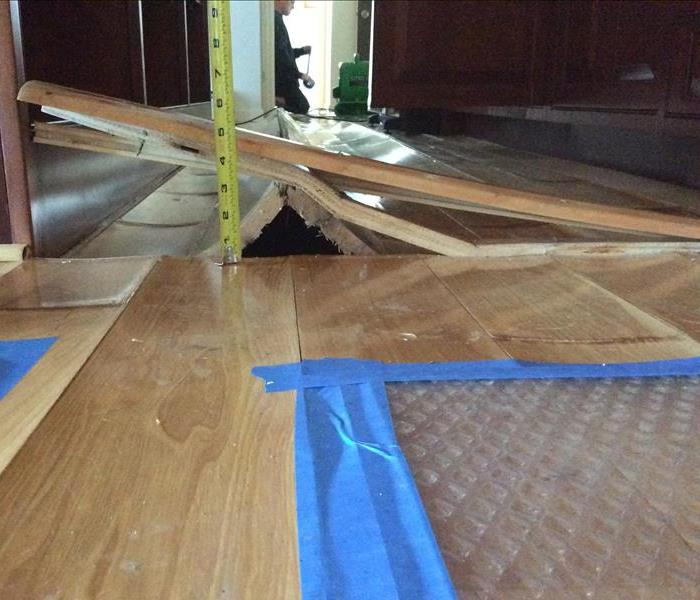Water Damage Hardwood floors when to replace after a water damage