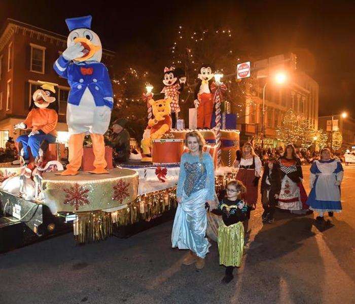 Community 2015 Disney Parade by SERVPRO of Chambersburg